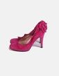 Zapatos ante fucsia Rebeca Sanver