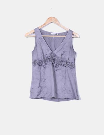 Camisa gris de seda  Trucco