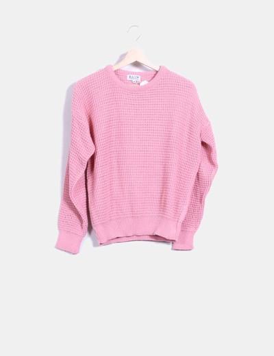 Jersey tricot rosa Daisy Street