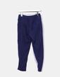 Pantalon bleu en satin Atmosphere