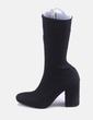 Bota calcetín negra Bershka