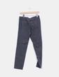 Pantalón baggy texturizado gris oscuro detalle pinzas Zara