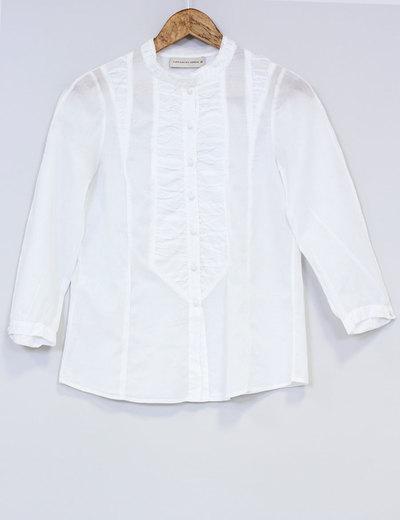 Purificación García Camisa blanca pechera (descuento 86%) - Micolet f7a6caf0604