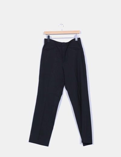 Pantalón negro recto  ANINOTO