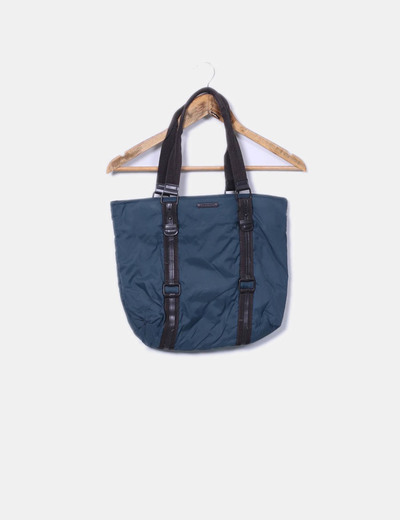 Bolso impermeable bicolor