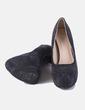 Zapato negro con strass Maëlyss