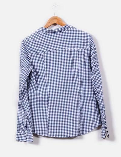 Blusa beige estampada