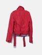 Chaqueta impermeable roja Miss Sixty