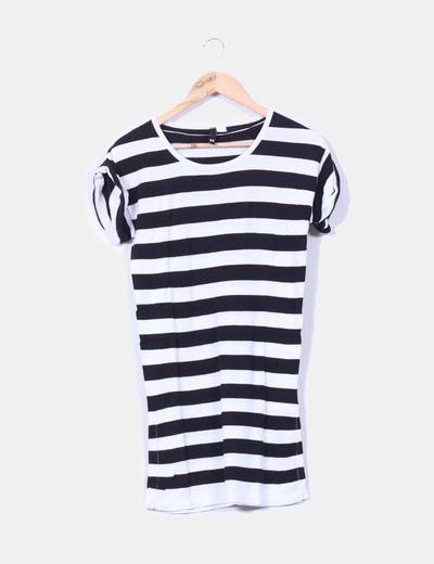 Tricot a rayas negro y blanco H&M