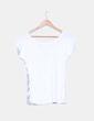 Camiseta blanca con serigrafia  Fishbone