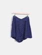 Minifalda azul con topos El Corte Inglés
