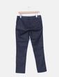 Pantalón negro elástico efecto encerado H&M