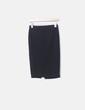 Falda tubo negra Pull&Bear