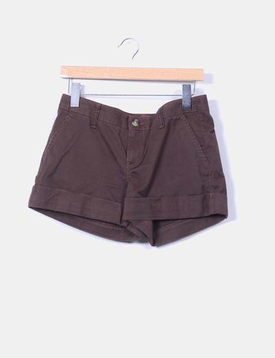 Short marrón Old navy
