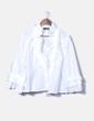 Camisa blanca satinada Javier Simorra