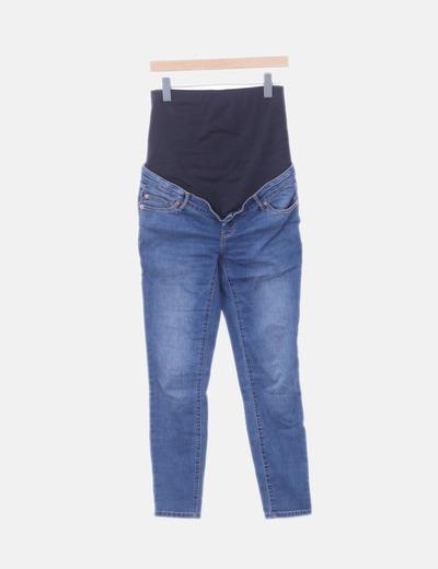 Jeans denim premamá