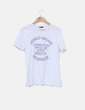 Camiseta blanca estampada Lefties