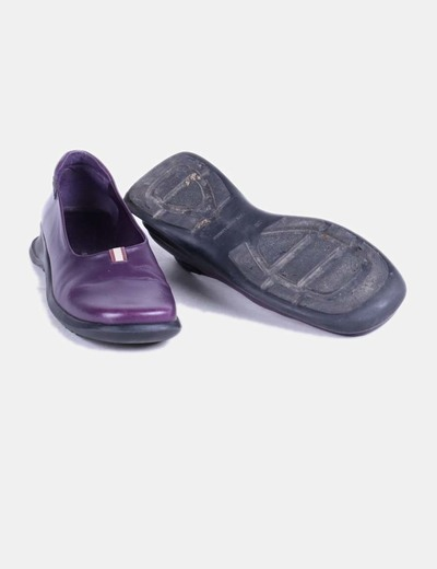 Zapato morado