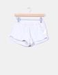Short polipiel beige Zara