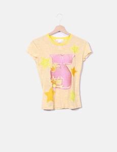 Camiseta bordada jaspeada Custo Barcelona 697c2ca52459f
