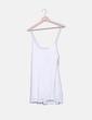 Vestido blanco de encaje Pull&Bear