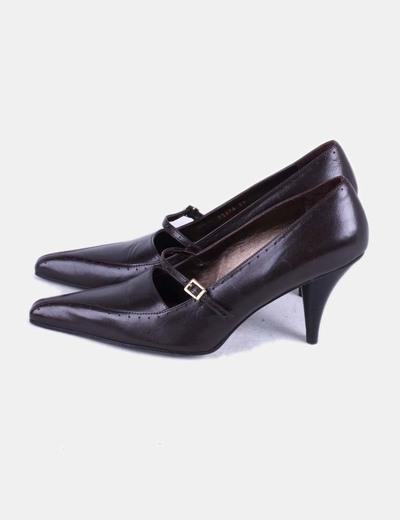 Zapato marrón con puntera Farrutx