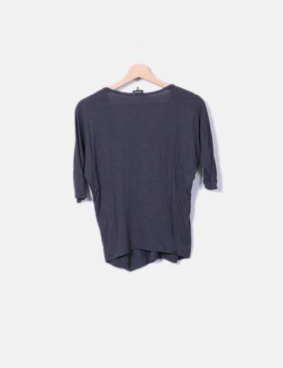 Camiseta abalorios