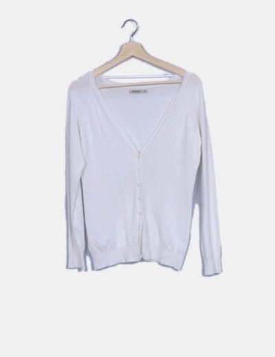 Chaqueta tricot blanco