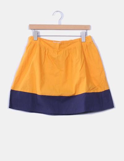 Falda bicolor de vuelo Springfield