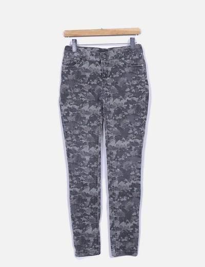 Jeans camouflage ajusté Atmosphere