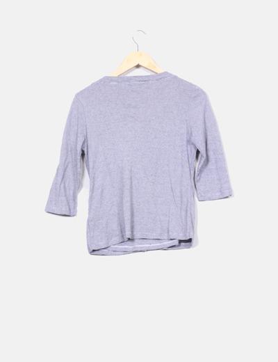 Top chaqueta de rayas