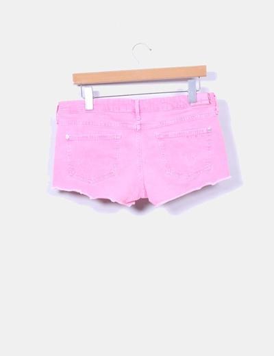 Short rosa fluor