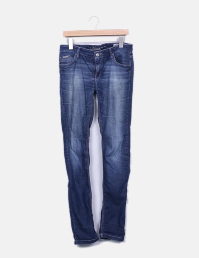 Jeans denim oscuro Datch
