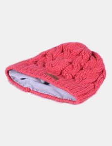Gorro de lana rosa con forro polar Quechua 1043fd63091c