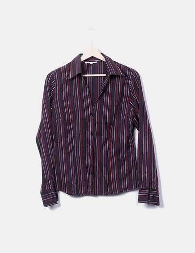 Camisa de rayas de colores