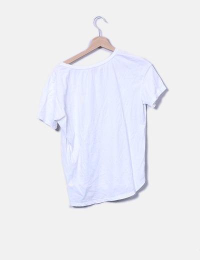Camiseta blanca frase