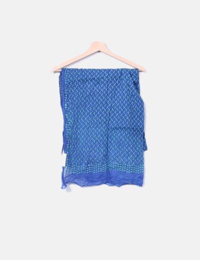 Chattawak Foulard bleu marine imprimé (réduction 49%) - Micolet 5f5ebe15d50