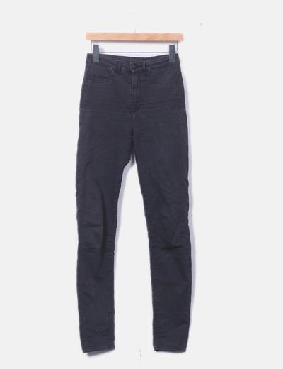 Jeans negros high waist
