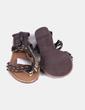 Sandales marrones Suiteblanco