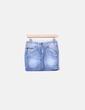 Mini saia azul claro jeans Pepe Jeans