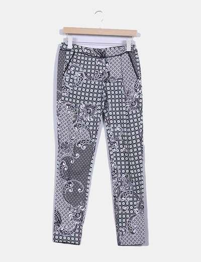 Pantalón estampado Suiteblanco
