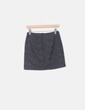 Mini falda animal print verde Pull&Bear