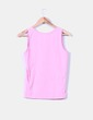 Camiseta rosa tirante ancho NoName