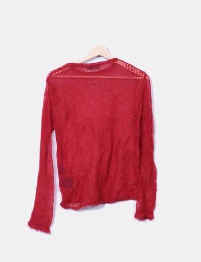 Jersey de punto roja