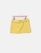 Minifalda mostaza Pull&Bear