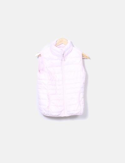 Chaleco acolchado rosa baby L'Amiede Paris