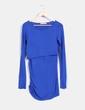 Vestido azul klein Árbol de Amor