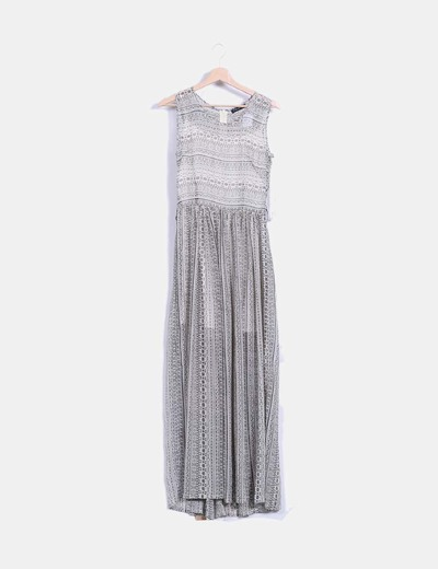 Yerse vestido maxi estampado by ariadne arteles descuento for Ariadne artiles medidas
