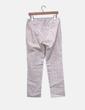 Pantalón chino beige estampado hormigas Adolfo Dominguez
