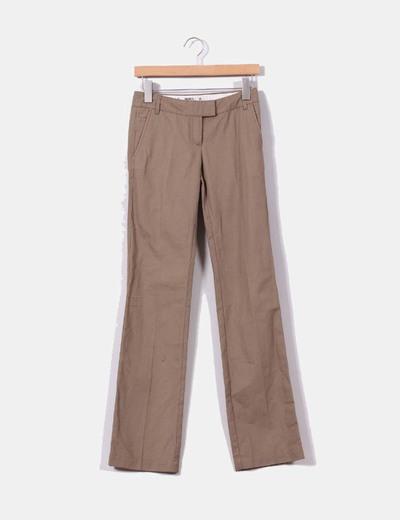 Pantalón chino camel Mango